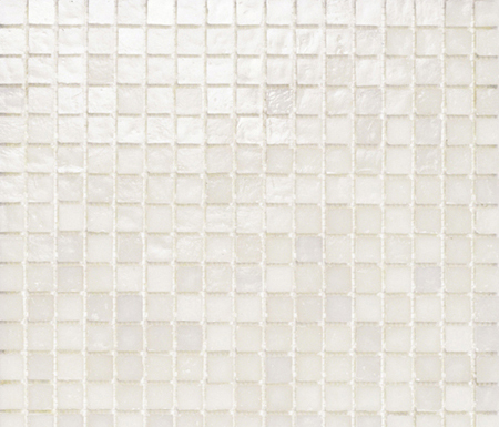 Mini Iris White by Porcelanosa | Glass mosaics
