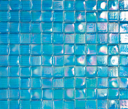 Island Cold Square by Porcelanosa | Glass mosaics