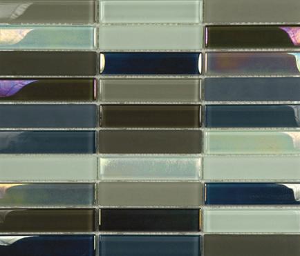 Metallic Glacier Mix Cremas 2-3x9-8 de Porcelanosa | Mosaïques verre