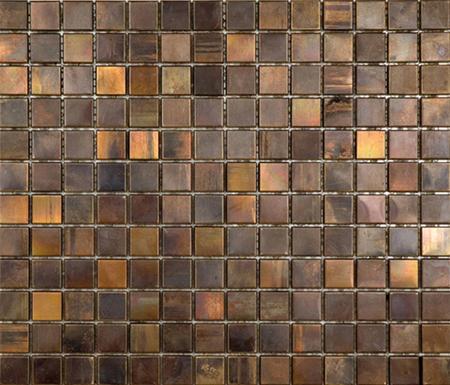 Noohn Metal Mosaics Cobre di Porcelanosa | Mosaici metallo
