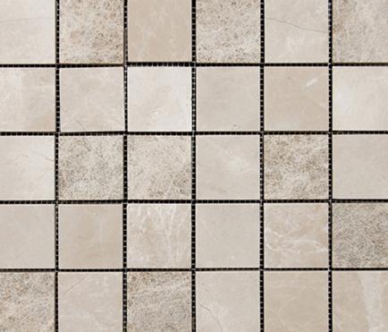 MIx Crema Alejandria Capucino Texture 5x5 de Porcelanosa | Revestimientos de fachada
