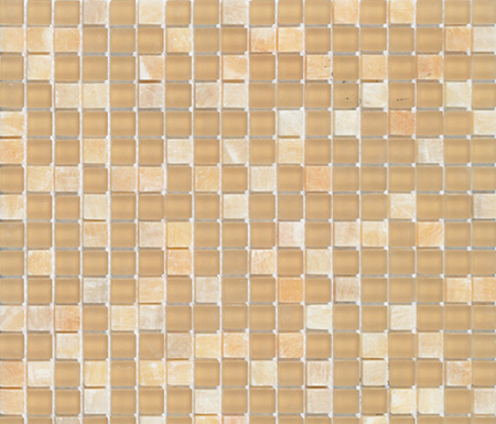 Noohn Stone Glass Mosaics Mix Onix Glacier Honey by Porcelanosa | Glass mosaics