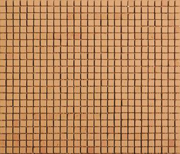 Noohn Terracotta Mosaics Manual-Miel 1x1 by Porcelanosa | Facade cladding