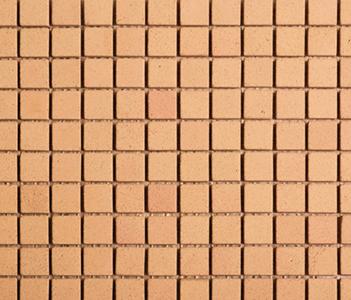 Noohn Terracotta Mosaics Manual-Miel 2-3x2-3 by Porcelanosa | Facade cladding