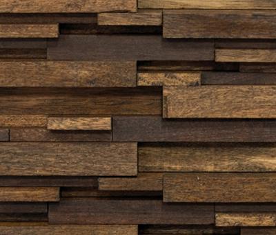 Noohn Stone Mosaics Modul Wood de Porcelanosa | Revestimientos de fachada