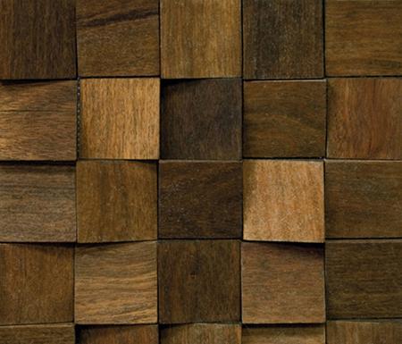 Noohn Stone Mosaics Feel Wood by Porcelanosa | Facade cladding