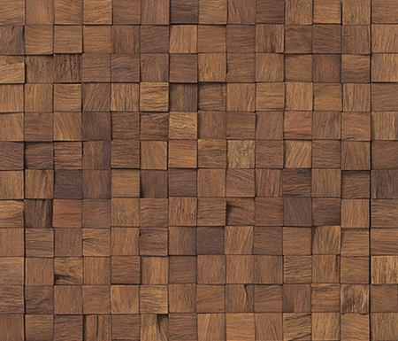 Noohn Stone Mosaics Wood 1-9x1-9 by Porcelanosa | Facade cladding