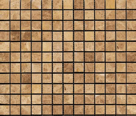Pulidos Capuccino Pulido 2x2 by Porcelanosa   Natural stone mosaics