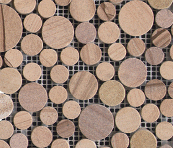 Pulidos Moon Beige Sandstone by Porcelanosa | Natural stone mosaics