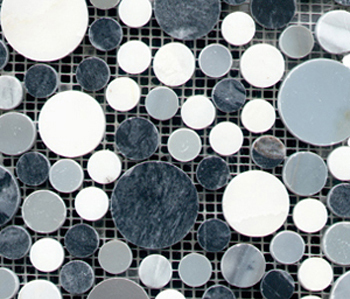 Pulidos Moon Mix Greys by Porcelanosa | Natural stone mosaics