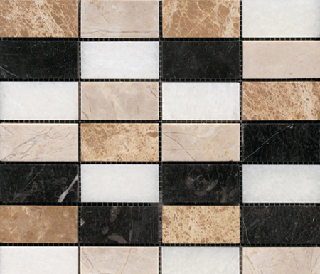 Pulidos Multicolor by Porcelanosa | Natural stone mosaics