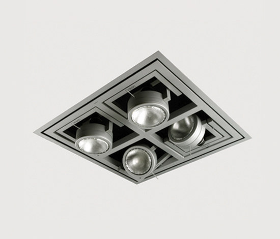Diapason Kwadro Recessed Ceiling by Kreon | Ceiling systems