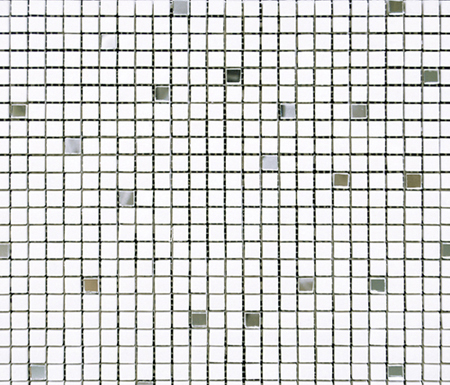 Victorian Blanco Thassos Mirror by Porcelanosa | Natural stone mosaics