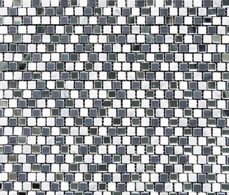 Victorian Brick Greys Mirror di Porcelanosa   Mosaici