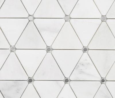 Victorian Diamond Bco Marmara Mirror by Porcelanosa | Natural stone mosaics