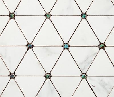 Victorian Diamond Blanco Marmara Pearl di Porcelanosa | Mosaici