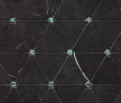 Victorian Diamond Negro Marquina Pearl di Porcelanosa | Mosaici