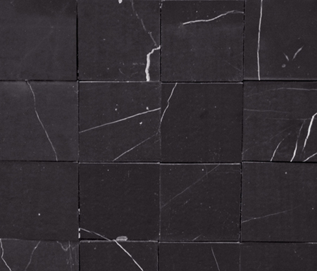 Victorian Feel Negro Marquina by Porcelanosa | Natural stone mosaics