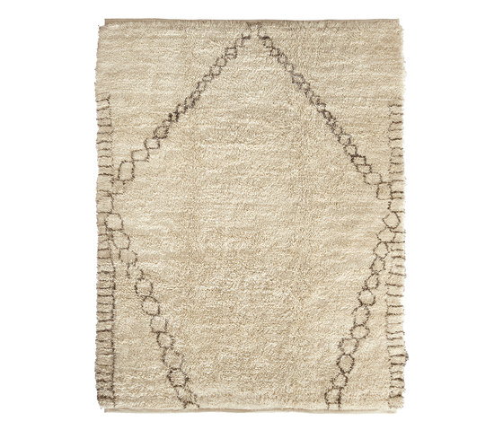 Le Maroc Blanc | Diamond by Jan Kath | Rugs / Designer rugs
