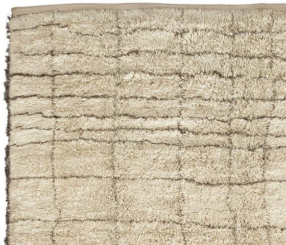 Le Maroc Blanc | Stripes by Jan Kath | Rugs / Designer rugs