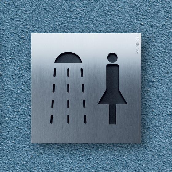 Siedle Steel pictogram di Siedle | Cartelli segnaletici per ambienti