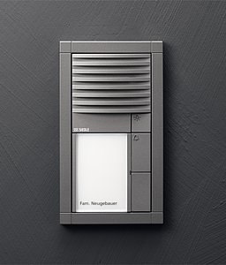 Siedle Vario audio intercom unit di Siedle | Citofoni da ingresso