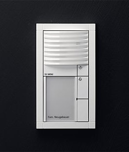 Siedle Vario audio intercom unit di Siedle | Citofoni da ingresso
