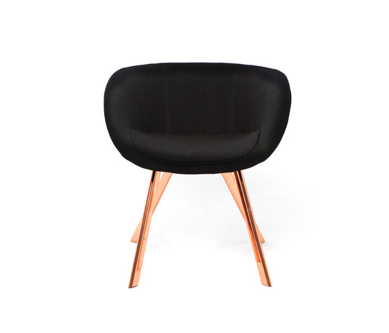 Scoop Chair low by Tom Dixon | Restaurant chairs