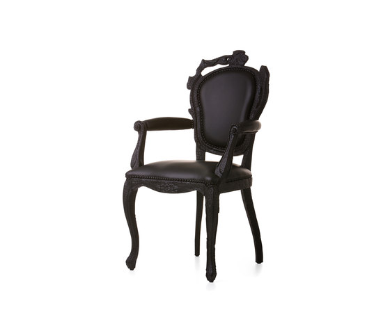 smoke Dining armchair by moooi | Restaurant chairs