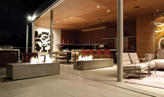 XL700 by EcoSmart Fire   Open fireplaces