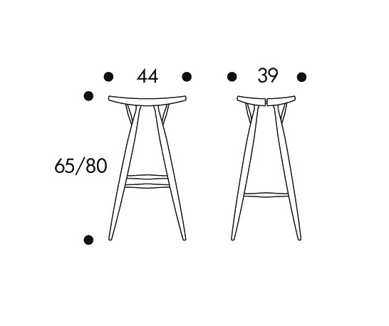 Pirkka Bar Stool de Artek | Tabourets de bar