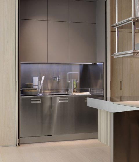 Lapis Inox by Arclinea | Kitchen systems