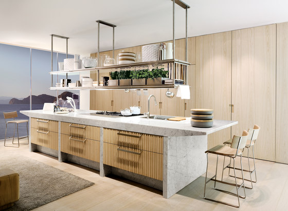 Lignum et Lapis ambiente 1 by Arclinea | Fitted kitchens