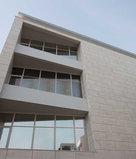 Reference Custom Design by Mosa | Facade cladding