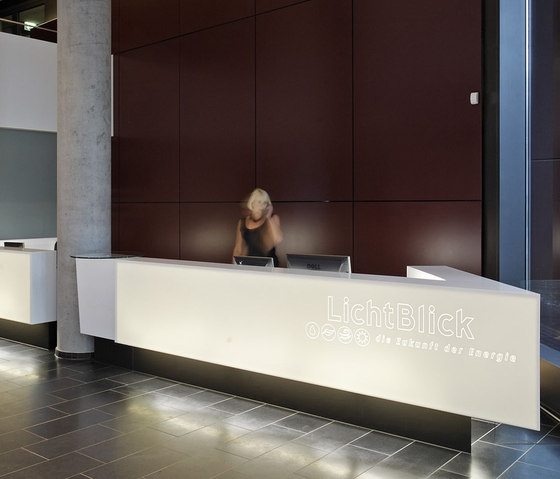 Reception desk by Plan W | Reception desks