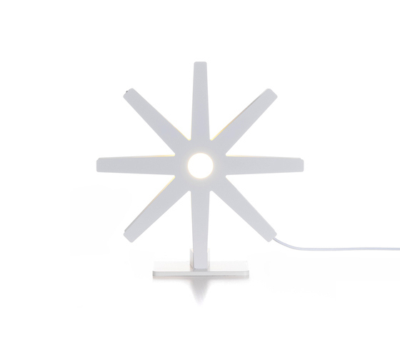 Fling 50 table white by Bsweden | General lighting