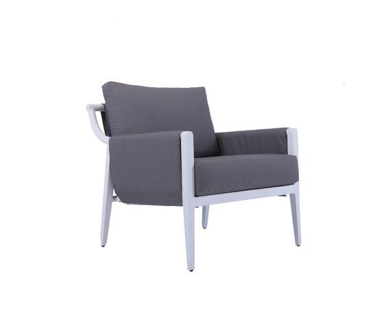 Dean Lounge chair by steve & james | Garden armchairs