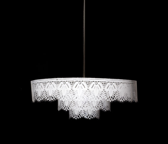 Grace Chandelier by Bsweden | Ceiling suspended chandeliers