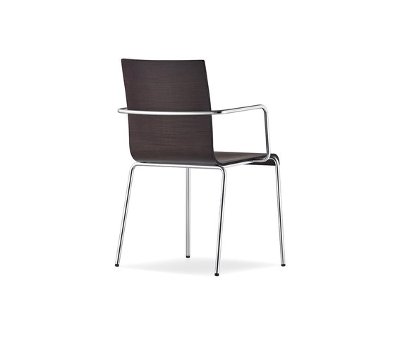 Kuadra XL 2414 by PEDRALI | Multipurpose chairs