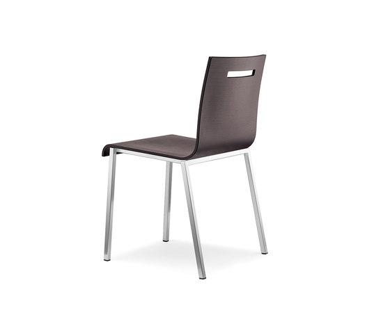 Kuadra XL 2421* by PEDRALI   Multipurpose chairs