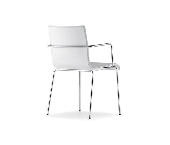Kuadra XL 2464 by PEDRALI | Multipurpose chairs