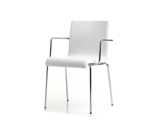 Kuadra XL 2484* by PEDRALI | Multipurpose chairs