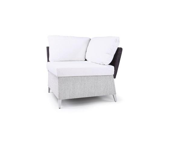 Vicky Modular corner by steve & james | Garden sofas