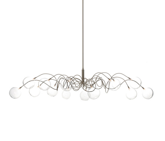 Big Bubbles Oval pendant light 14 by HARCO LOOR | General lighting