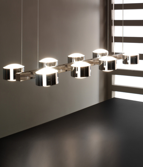 City S8 Pendant by Luz Difusión | General lighting