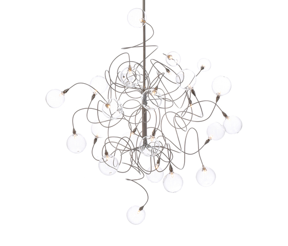 Bubbles Double pendant light 24 by HARCO LOOR | General lighting
