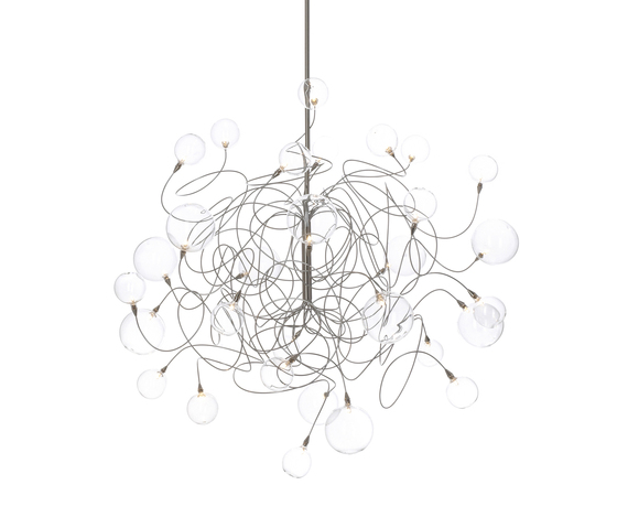 Bubbles Double pendant light 30 by HARCO LOOR | General lighting