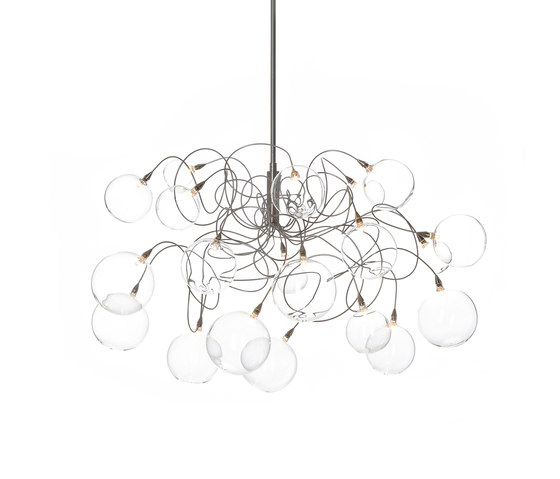 Bubbles pendant light 20 by HARCO LOOR | General lighting