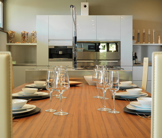 Convivium di Arclinea | Cucine a parete