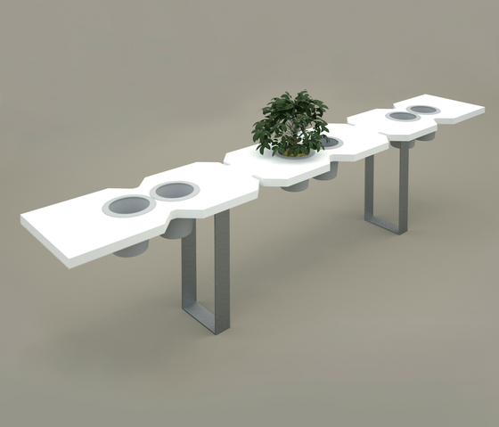 Simplex Benches by Solisombra | Garden benches